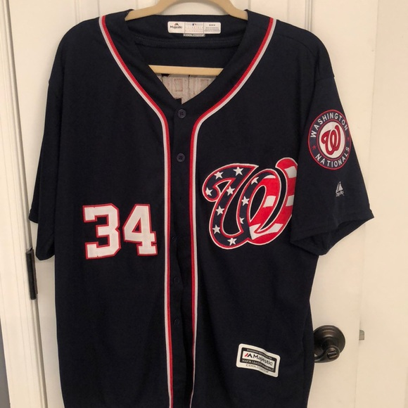 pretty nice ed45a 5bbec Washington Nationals Bryce Harper (#34) Jersey